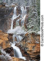 Tangle Falls in Winter