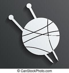 tangle of spokes vector