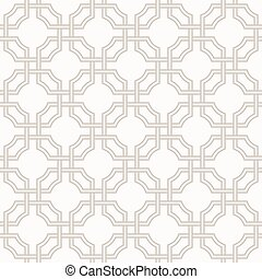 Tangled Eastern Pattern - Traditional arabic tangled pattern...