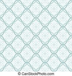 Tangled Lattice Pattern - Traditional arabic tangled lattice...