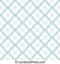 Tangled Lattice Pattern - Traditional arabic tangled lattice...