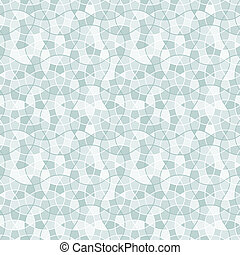 Tangled Tessellation Pattern with white lines. Seamless...
