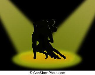 Tango in the spotlights