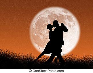 tango, luna