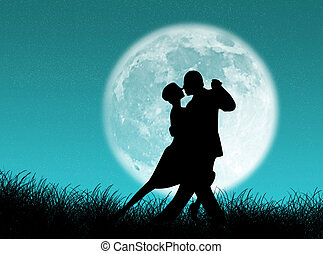 tango, mond