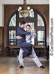 tango, zaufany, tancerz, towarzysz, samiec, podnoszenie