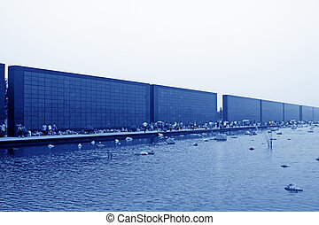 Tangshan Earthquake Memorial Wall, china.