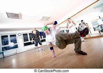 taniec, .break