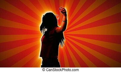 taniec, ożywienie, 1