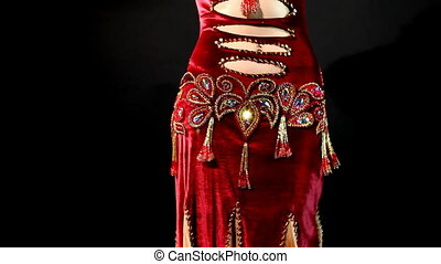 taniec, -, tradycyjny, re, brzuch, arabszczyzna