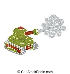 tank., cartone animato