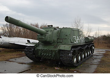tank destroyer 152-mm - WW2,soviet