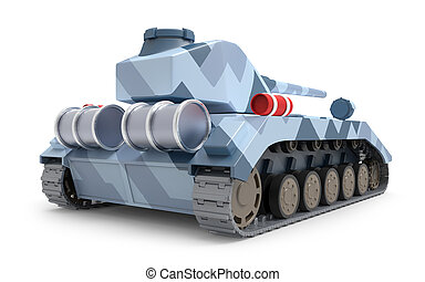 tank heavy fantastic back