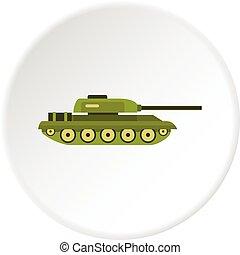 Tank icon circle
