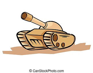 Tank Illustration