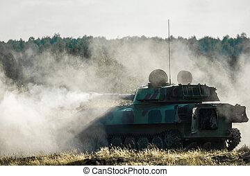 tank, -, militaer