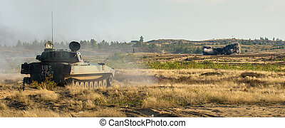 Tank - military