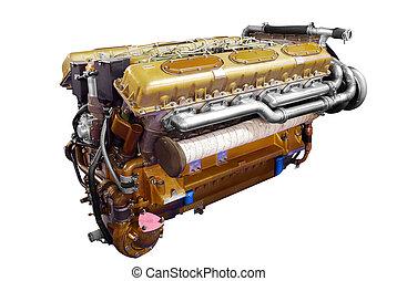 tank, motor