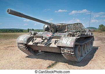 Tank - T55 russian military tank