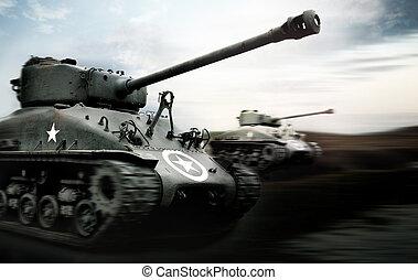 tank, schlacht