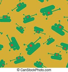 tank seamless pattern.
