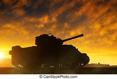 tank., sylwetka