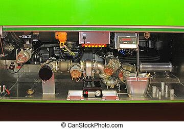 Tank truck pump
