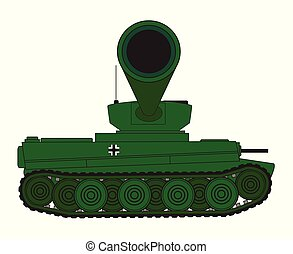 Tank Turret Gun Barrel