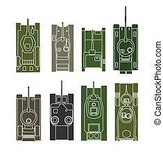 Tank vector collection