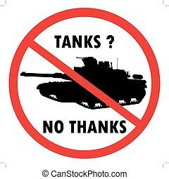 tankar, nej