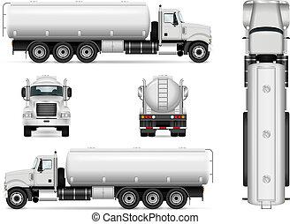 Tanker car template