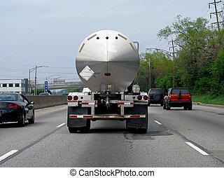 tanker lastbil