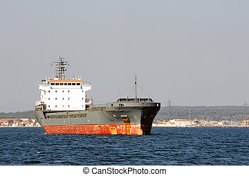 tanker on standby to discharge its cargo in France with the...