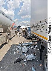 Tanker Traffic Accident