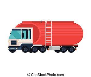tankerlastwagen, logistisch, service