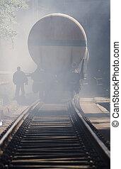 tankfartyg, tåg, krasch, olycka