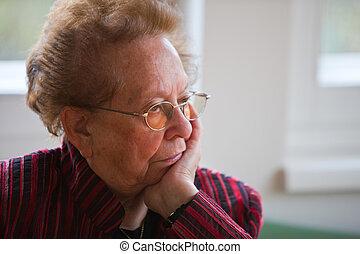 tankfull, äldre medborgare