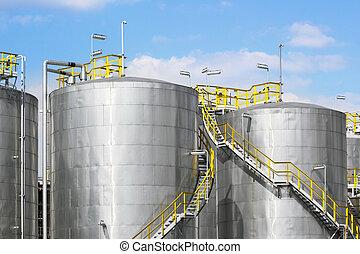 tanks réservoirs