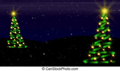 Tannenbaum Evening Loop-Widescreen - Perfectly seamless (no...