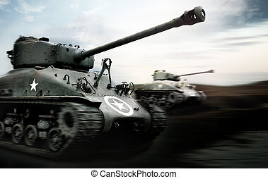 tanque, batalla