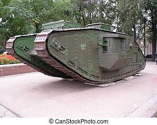 tanque, británico, primero