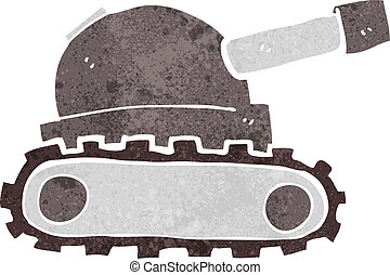 tanque, caricatura