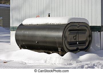 tanque de petróleo