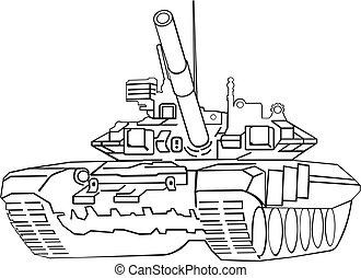 tanque, ejército