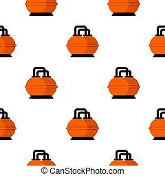 tanque, patrón, almacenamiento, seamless, naranja, combustible