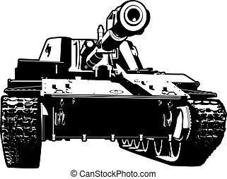 tanque, pesado