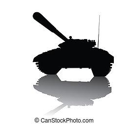 tanque, soviético