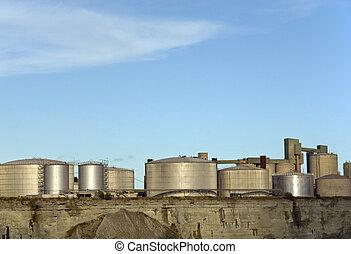 tanques armazenamento