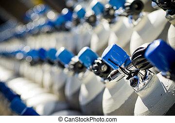 tanques de submarinismo