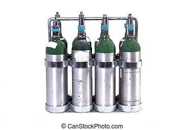 tanques del oxígeno